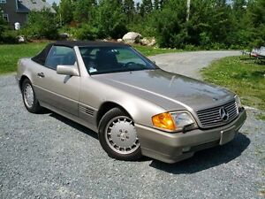1992 Mercedes-Benz SL500 Series Convertible