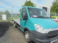 Iveco Daily 35C15 MWB fitted with Lightweight Alloy Beavertail Recovery Body