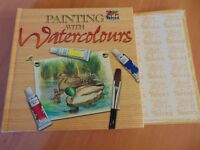 Learn to watercolor craft book