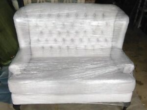 Love Seat and Wing Back Chair