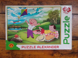 Bolek and Lolek large 20 piece jigsaw puzzle