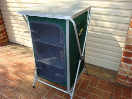 Oz Trail Deluxe 3 Shelf Camping Cupboard Wattle Grove Liverpool Area Preview