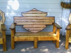 Harley Bench & Chairs