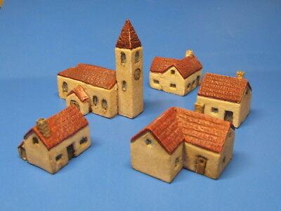 NEU - Gebäudeset - kleines Dorf, Maßstab - 6mm (1:285/300)  Kleines Dorf