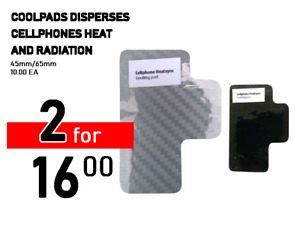 Cool pads for cell phones Heat sink for smart mobile phones