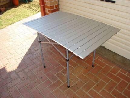 Jackeroo Folding Aluminium Table Wattle Grove Liverpool Area Preview