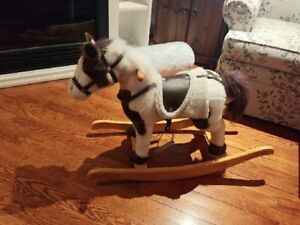 Rocking Horse with Movements & Sounds