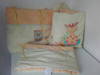 Cot quilt and bumper three piece set - Mamas and Papas - unisex