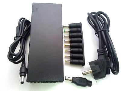 ALIMENTADOR CARGADOR ORDENADOR PORTATIL 120W 12-24VDC 8 CLAVIJAS+HP DELL BD7273