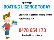 Boating Licence Course - we can come to you Campbelltown Area Preview