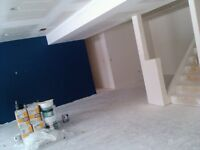 Drywall taping and texture