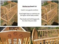 Mothercare Beech Cot