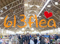 613flea has 150 vendors! Free admission! This weekend.