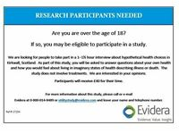 Research Participants Needed for Paid Study in Kirkwall