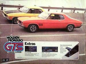 Holden HQ CARS & PARTS Monaro GTS Kingswood Coupe HK HG HJ LS 350 Kidman Park Charles Sturt Area Preview