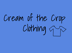 Cream of the Crop Clothing