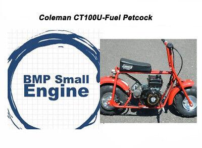 Attex Coleman Moto Ski etc Vintage mini bike fuel tank petcock Arctic Cat