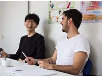 English course class language intermediate advance fce ielts cae pet