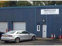 To Let Workshop Warehouse Lockup Storage Unit Rent Modern Commercial Space industrial Premises