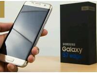 Galaxy s7 edge unlocked boxed days old
