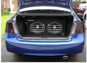 CAR AUDIO - 2 JL (12 INCH) SUBWOOFERS IN BOX