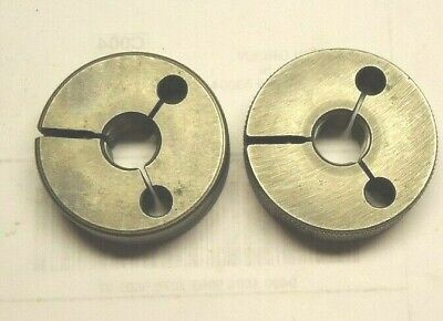 Master Gage Co. 12 - 20 Unf 2a Thread Ring Gages Go No Go