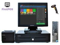 Full Touchscreen Dell EPOS POS Cash Register Till Retail and Hospitality System