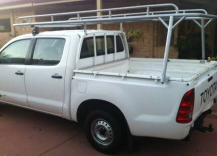 Dual Cab Toyota Hilux Roof Rack Helena Valley Mundaring Area Preview