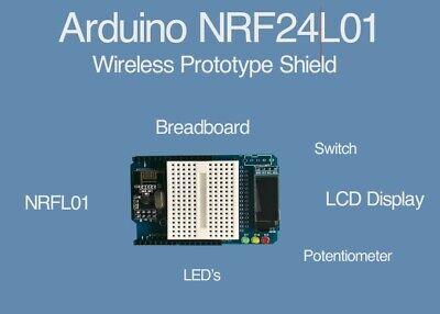 Arduino Nrf24l01 2.4ghz Wireless Shield