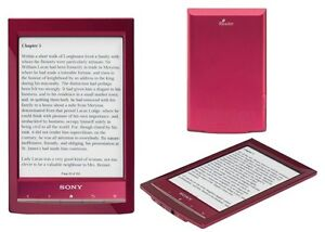 SONY EREADER  PRS-T1 2GB RED