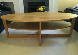 Ikea birch vejmon coffee table