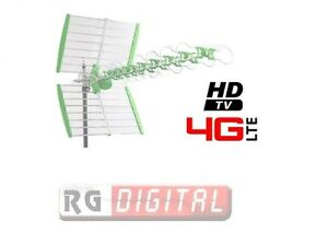 ANTENNA-TV-DIGITALE-TERRESTRE-ESTERNA-4G-LTE-UHF-FM-RADIO-TV-W38DBLTE