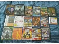 Ps2 wii ds pc different games