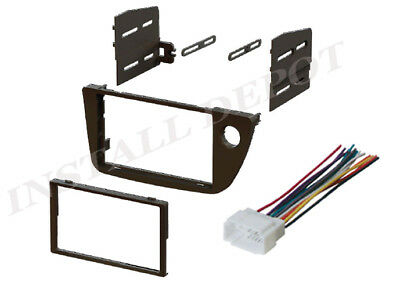 ACURA RSX DOUBLE DIN COMPLETE DASH KIT + WIRING HARNESS CAR STEREO INSTALL (Acura Rsx Stereo)