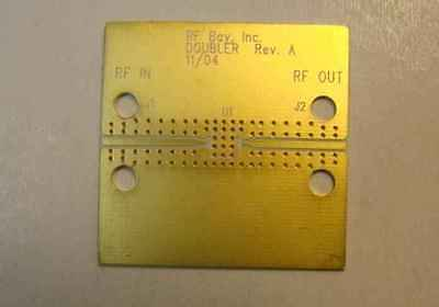 Develop Pcb Hittite Doubler Rogers Ro4350 Material