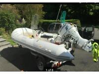 Rib Boat....LYNX HYPALON 400