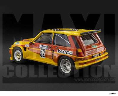 1//24 scale MaxiCollection DECAL Renault 5 Maxi Turbo  YACCO