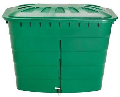 Regentonne eckig 520 Liter grün GARANTIA 501207