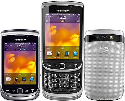 "3.2"" Unlocked BlackBerry Torch 9810 8GB 5MP Wifi Silver Slider GSM Smartphone"