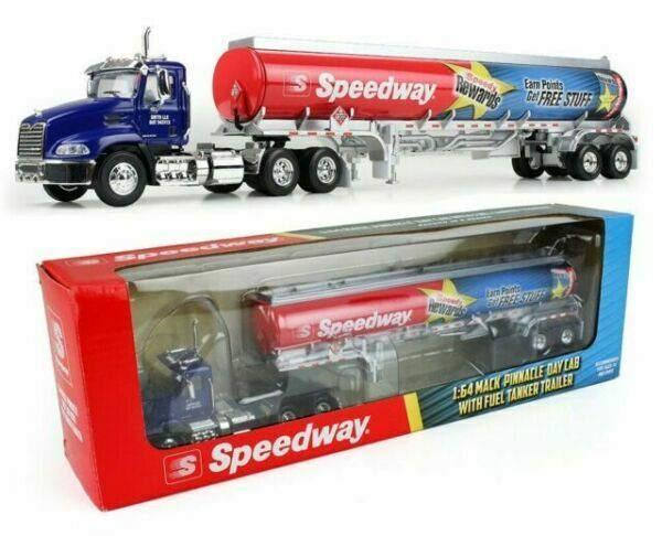 First Gear /DCP 1:64 Scale Mack Pinnacle Day Cab W/ Fuel Tanker Trailer #69-0301
