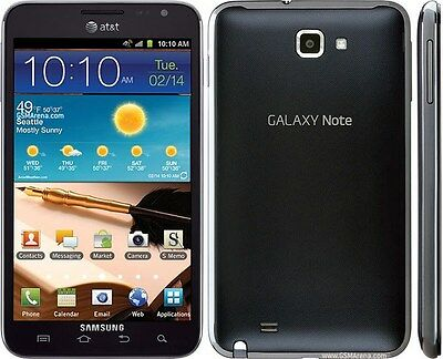 (AT&T) Samsung Galaxy Note SGH-I717 16GB Black 4G LTE 5.3 in Android Smartphone for sale  Riverside