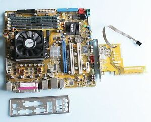 AMD Dual Core CPU +Motherboard (VGA DVI HDMI) +8GB RAM. Tested.