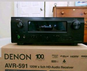 Denon avr591 + Boston Acoustics mcs100