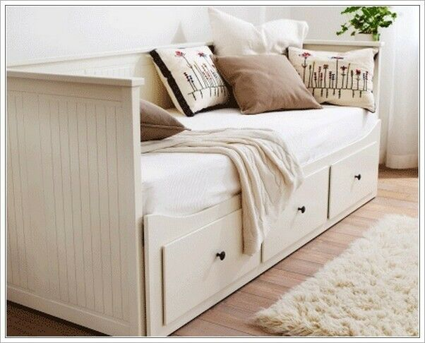 ikea hemnes 3 drawer sofa bed w 2 mattresses in camden london gumtree. Black Bedroom Furniture Sets. Home Design Ideas