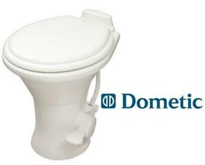 NEW DOMETIC RV TOILET WHITE 225023937 310 Series Standard Height