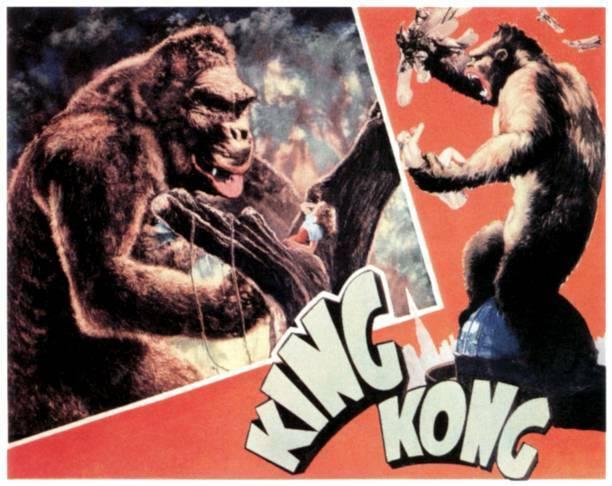 King Kong Lobby Card Fay Wray 1933 OLD MOVIE PHOTO