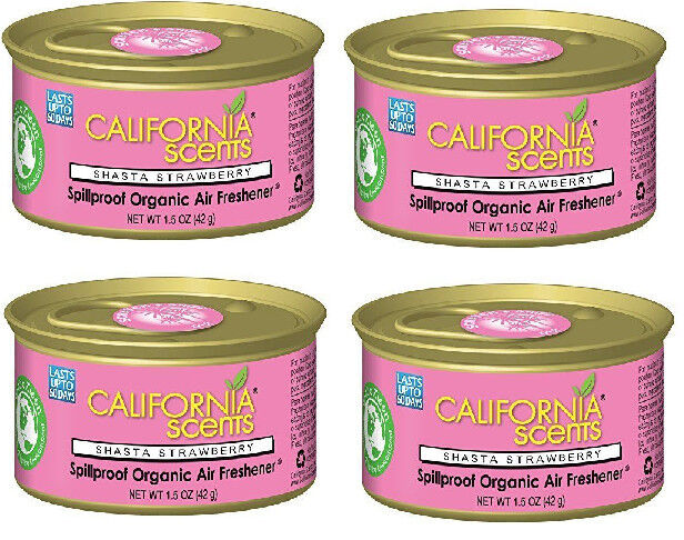 California Scents Spillproof Organic Air Freshener, Shasta S