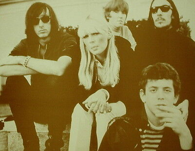 "The Velvet Underground Poster Print - Group Photo - Nico - Lou Reed - 11""x14"""