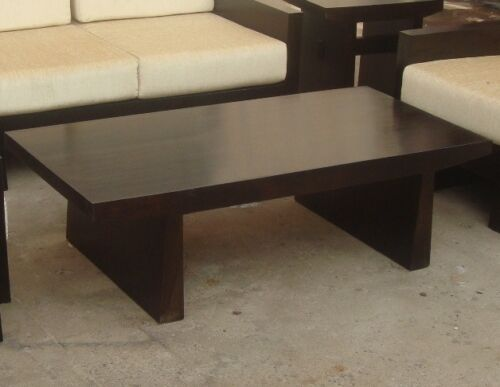 Japanese style sheesham wood wooden center coffee table