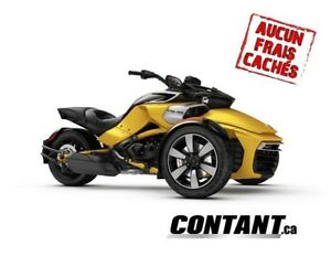 2018 Can-Am  3 roues F3-S CANAM SPYDER F3-S SE 6